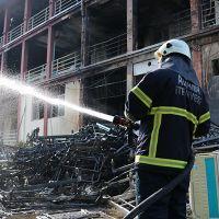 Adana'da hastanedeki yangın korkuttu