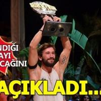 Adem Kılıççı Survivor'dan kazandığı büyük ödülü nasıl kullanacağını açıkladı