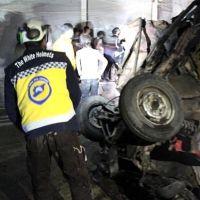 Afrin'de SMO komutanının aracına bombalı saldırı