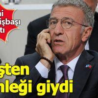 Ahmet Ağaoğlu ateşten gömleği giydi
