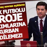 Ahmet Kaya'dan Başakşehir maçı rezaletine tepki