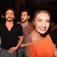 Ahmet Kural, sevgilisi Sıla'yı en önden izledi