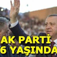 Ak Parti 16 yaşında! Cumhurbaşkanı Erdoğan konuşma yapacak