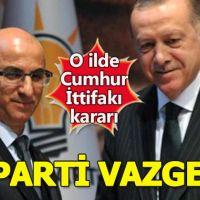 Ak Parti Kars'taki adayını geri çekti