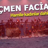Akdeniz'de göçmen faciası: Hamile kadınlar dahil 45 kişi can verdi