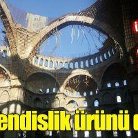 Akkent Camisi inşaatında çöken iskeleyle ilgili TMMOB'den sarsıcı rapor