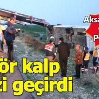 Aksaray'da trafik kazası: 4 kişi öldü