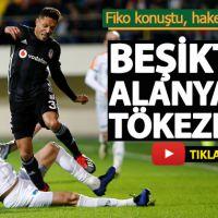 Alanyaspor 0-0 Beşiktaş Geniş Maç Özeti (Video)