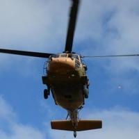 Alman helikopteri düştü:2 ölü