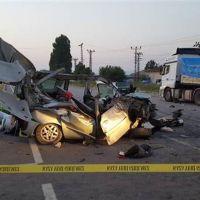 Amasya'da korkunç kaza!