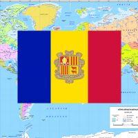 Andorra nerede | Andora haritadaki yeri | Andorra nüfus kaç?