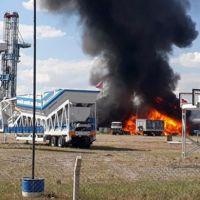 Ankara Gölbaşı'nda fabrika yangını