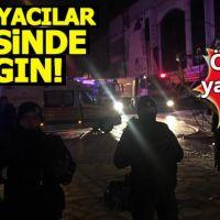 Ankara'da mobilyacılar sitesinde yangın: Ölü ve yaralılar var