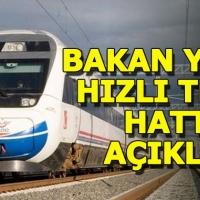 Antalya-Burdur-Isparta hızlı tren projesi başladı