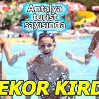 Antalya turistte rekor kırdı