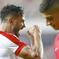 Antalyaspor siftah yaptı (Antalyaspor 2-1 Kasımpaşa)