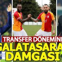 Ara transfer dönemine Galatasaray damga vurdu