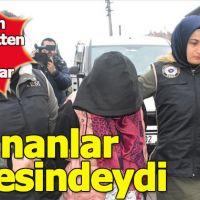Aranan kadın terörist yakalandı