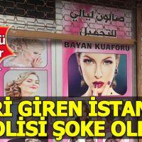 Arnavutköy'de kadın kuaförü görünümlü kürtaj merkezine baskın!