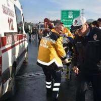 Aydın'daki kazada yaralanan polis şehit oldu