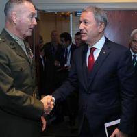 Bakan Akar'dan ABD Genel Kurmay Başkanı'na uyarı