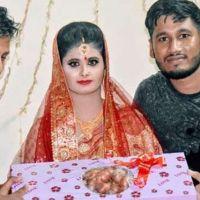 Bangladeş'te düğün hediyesi olarak soğan taktılar