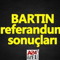 Bartın referandum sonuçları - evet mi hayır mı oy oranları ilçe oyları YSK