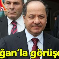 Barzani Erdoğan'la görüşmek için İstanbul'da!