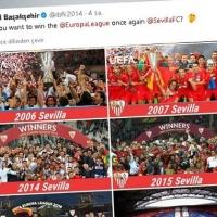 Başakşehir ve Sevilla'dan twitterda atışma