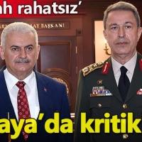 Başbakan Yıldırım, Genelkurmay Başkanı Hulusi Akar'la görüştü