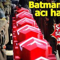 Batman'da şehit olan asker sayısı 8'e yükseldi