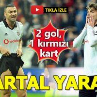 Beşiktaş 1-1 Erzurumspor Maç özeti izle beinsports