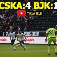 Beşiktaş 1-4 CSKA Moskova Hazırlık Maçı özet görüntüleri