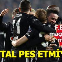 Beşiktaş seriyi devam ettirdi
