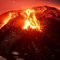 Bilim insanı volkanın içine düştü