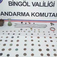 Bingöl'de tarihi eser kaçakçılarına büyük operasyon