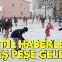 Bitlis, Van ve Hakkari'de okullar tatil mi (4 Mart pazartesi)