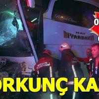 Bolu Dağı'nda korkunç kaza