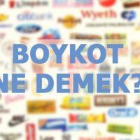 Boykot ne demek? Ekonomik boykot nedir?