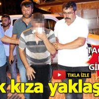 Burdur'da, çocuk tacizcisine linç girişimi!
