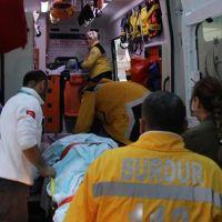 Burdur'da mermer fabrikasında patlama: 2'si ağır, 6 yaralı