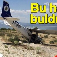 Burdur'da uçak kazası
