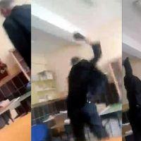 Burdur'daki dayakçı öğretmen serbest bırakıldı