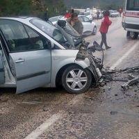 Bursa'da kaza: 2 ölü 8 yaralı
