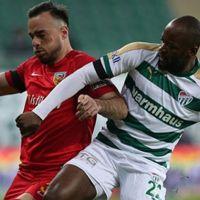 Bursaspor Kayserispor maç sonucu özet