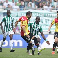 Bursaspor ile Göztepe 0-0 berabere kaldı.