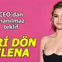 CEO'dan Selena Gomez'e geri dön çağrısı