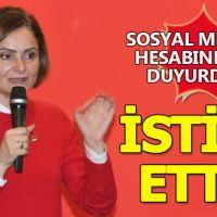 CHP İstanbul'da istifa depremi