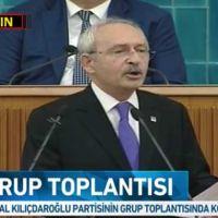 CHP lideri Kemal Kılıçdaroğlu grup toplantısında konuşuyor