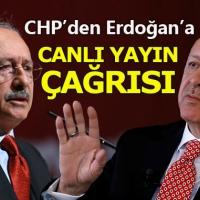 CHP'li vekillerden Cumhurbaşkanı Erdoğan'a canlı yayın çağrısı